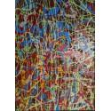 Edward Dwurnik - Abstrakcja - akryl, płótno