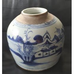Pojemnik na imbir - porcelana - Chiny