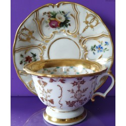 Filiżanka II - porcelana - biedermeier