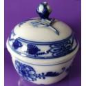 Cukiernica - porcelana - Miśnia ( Meissen) - zwiebelmuster, wzór cebulowy