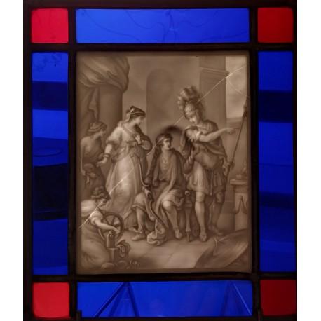 Litofania - Francja - poł.XIX w.