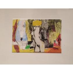 Krystyna Matusiak - Trzy Gracje - collage - 1999 r.