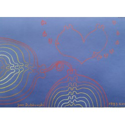 Jan Dobkowski (1942) - bez tytułu - pastel, papier - 1993 r - 50x70 cm